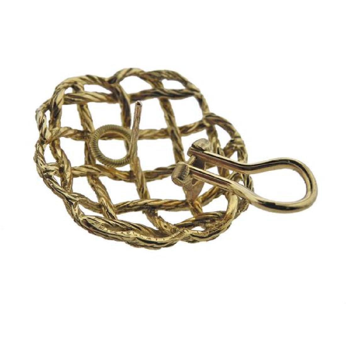 Buccellati 18K Gold Earrings - 4