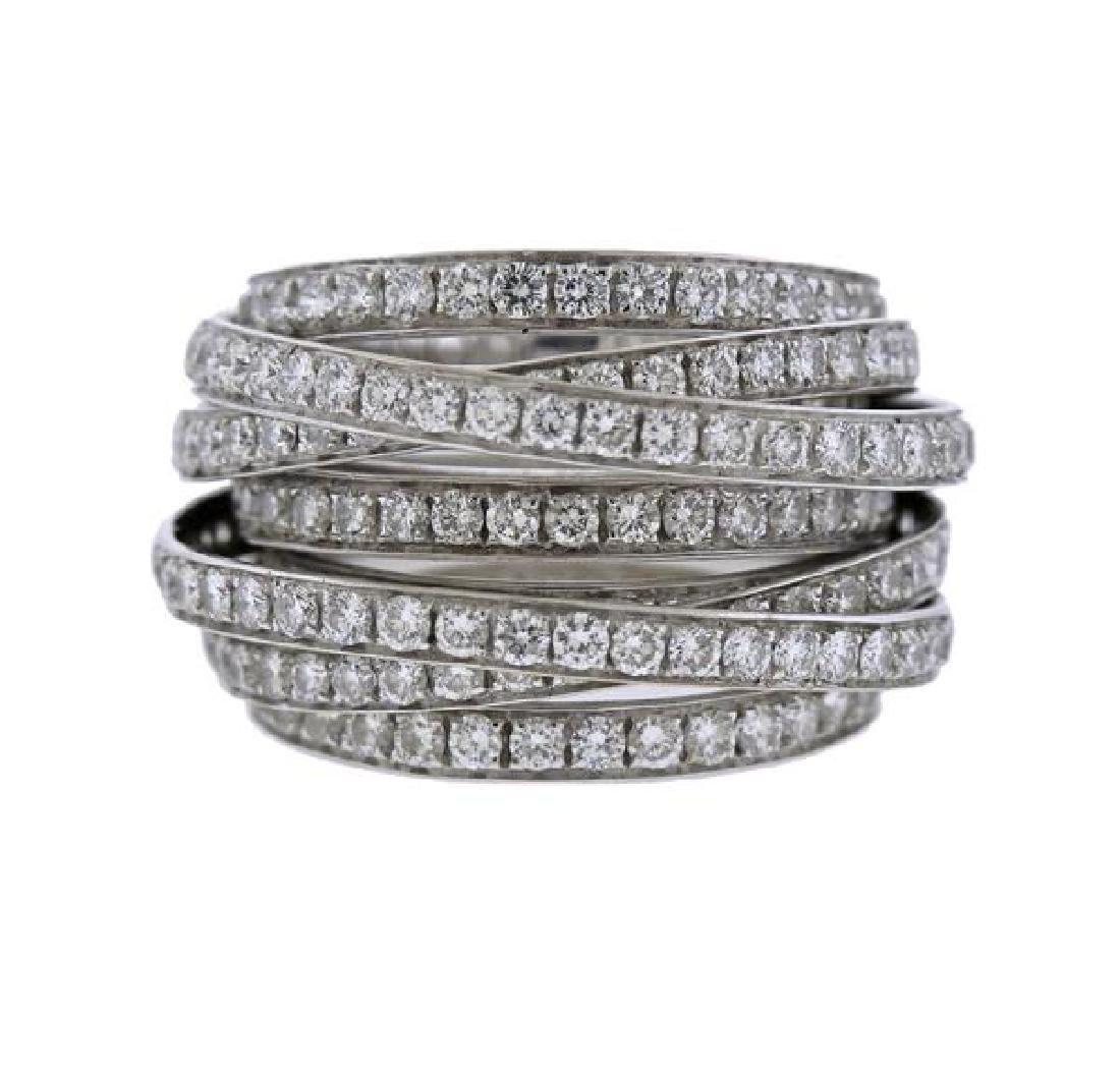 De Grisogono Allegra 18K Gold Diamond Ring