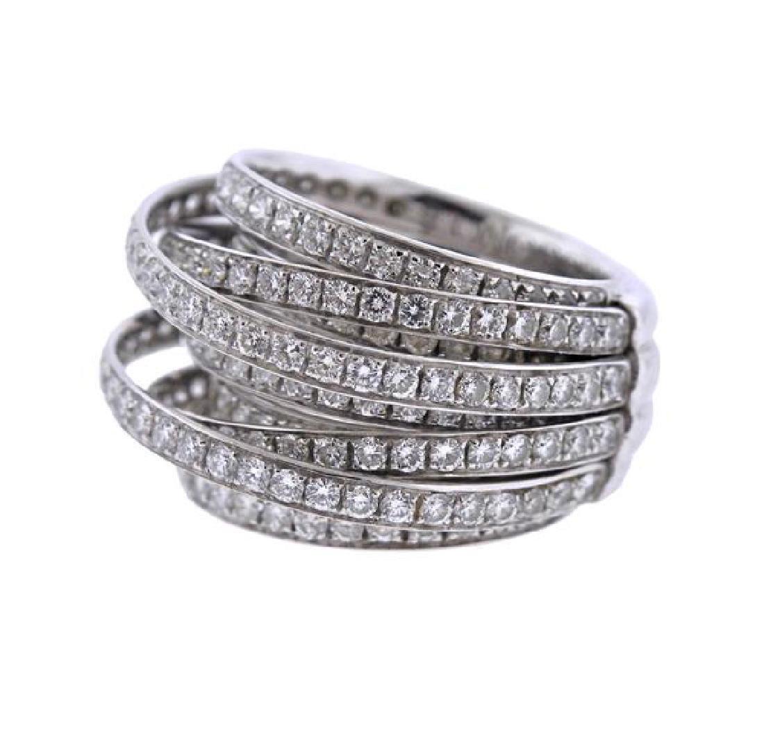 De Grisogono Allegra 18K Gold Diamond Ring - 2