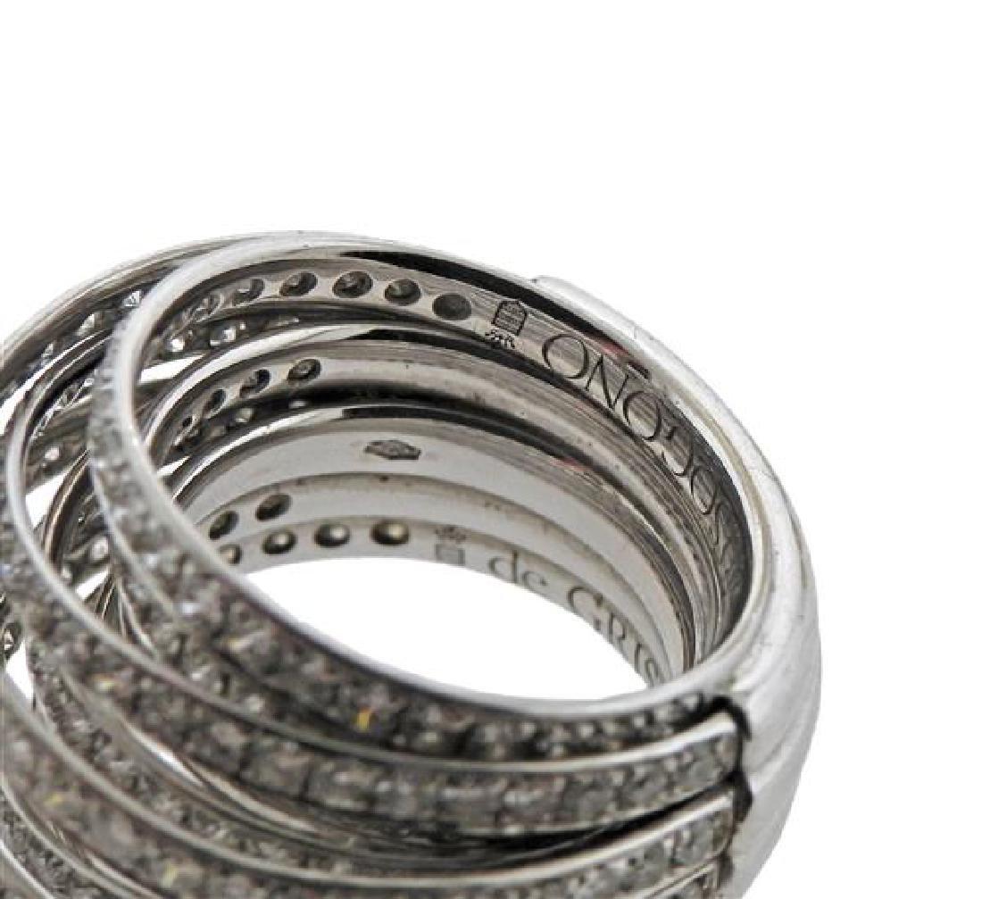 De Grisogono Allegra 18K Gold Diamond Ring - 4