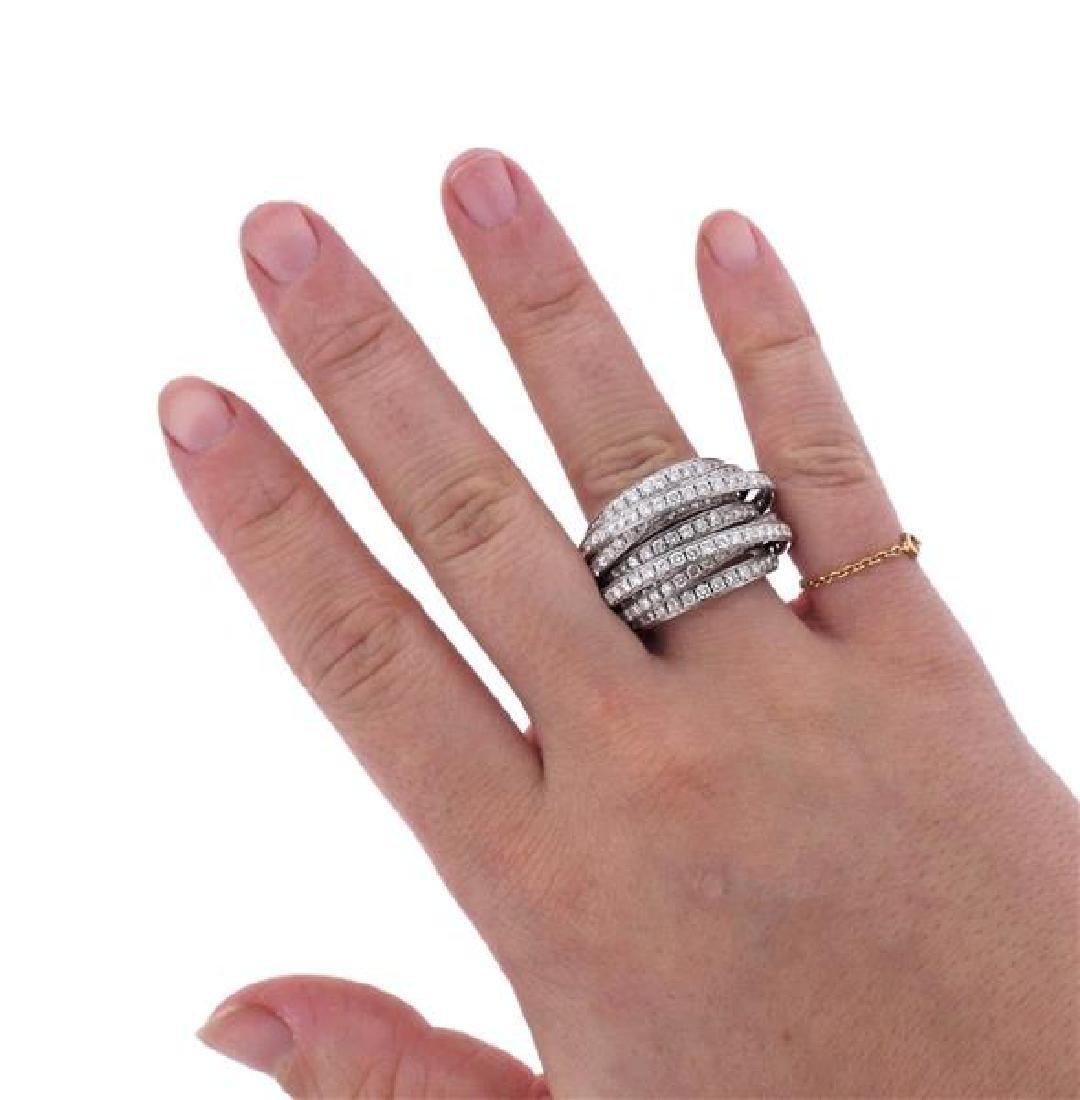 De Grisogono Allegra 18K Gold Diamond Ring - 6