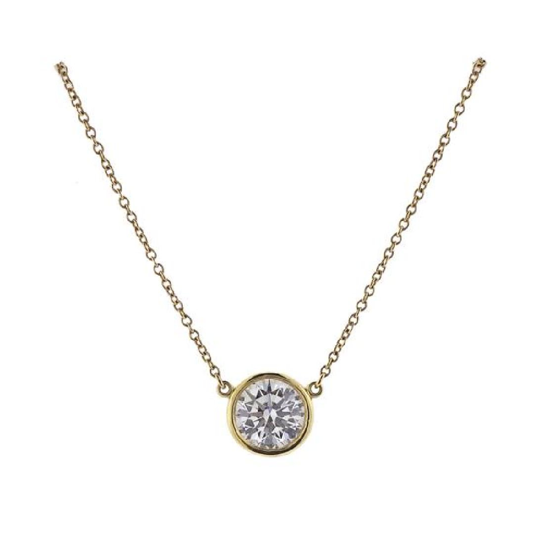 Tiffany & Co Peretti 1.13ct Diamond By the Yard 18K