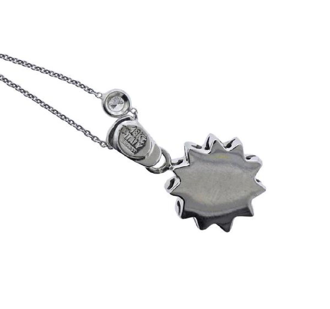 Roberto Coin 18K Gold Diamond Sun Pendant Necklace - 4