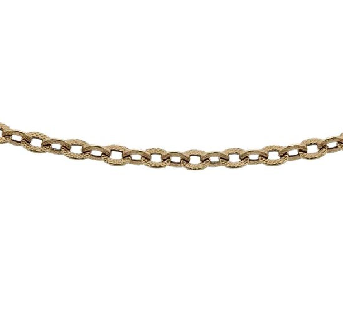 18K Gold Chain Necklace - 2