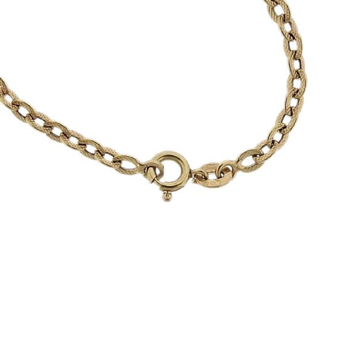 18K Gold Chain Necklace - 3