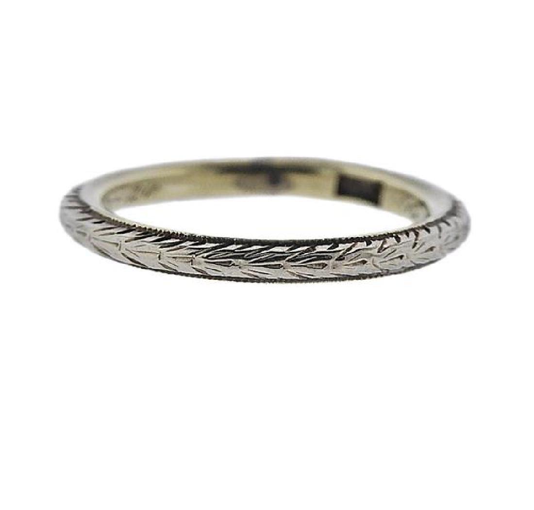 14K Gold Wedding Band Ring