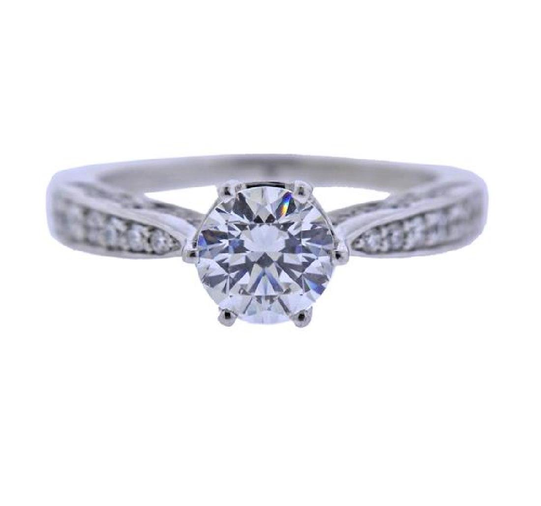 Peter Storm 18K Gold Diamond Engagement Ring Mounting