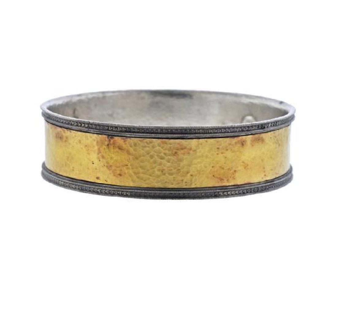 Gurhan Lancelot 24K Gold Sterling Bangle Bracelet
