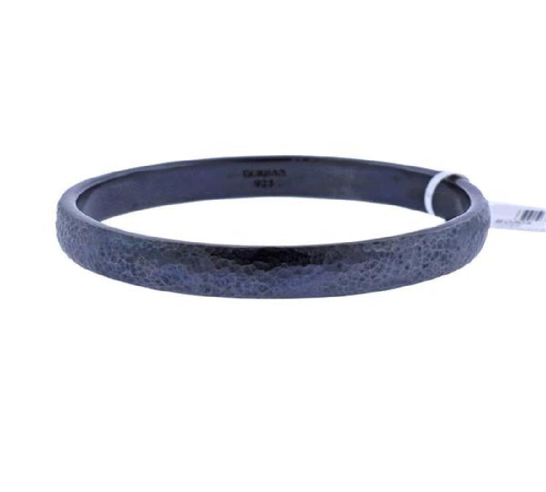 Gurhan Midnight Sterling Silver Bangle Bracelet