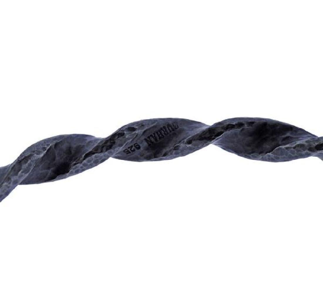 Gurhan Midnight Sterling Twisted Bangle Bracelet - 3