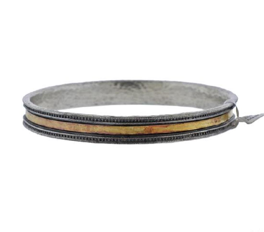 Gurhan Lancelot 24K Gold Sterling Bangle Bracelet