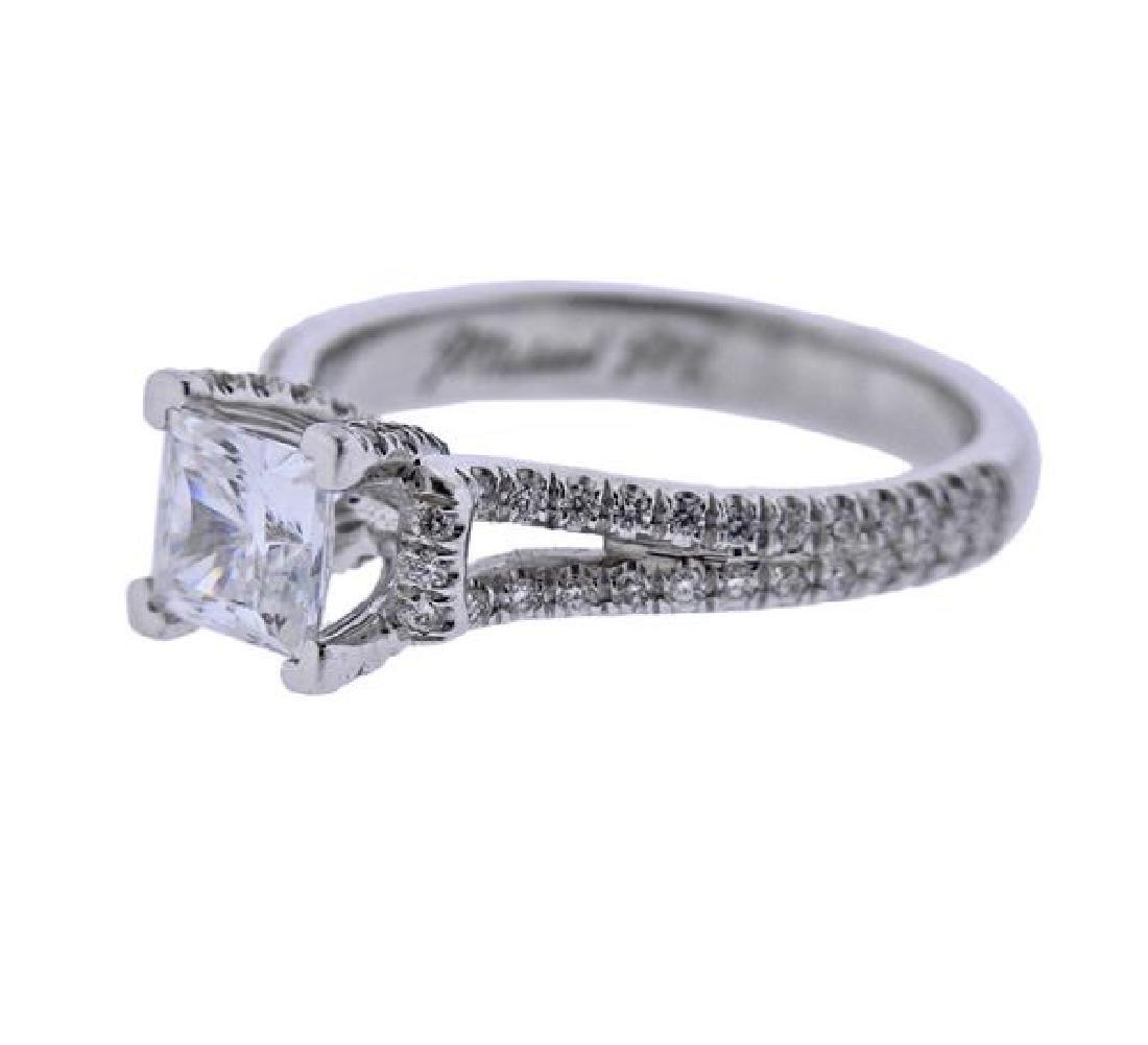 MIchael M. 18K Gold Diamond Engagement Ring Seeting - 2