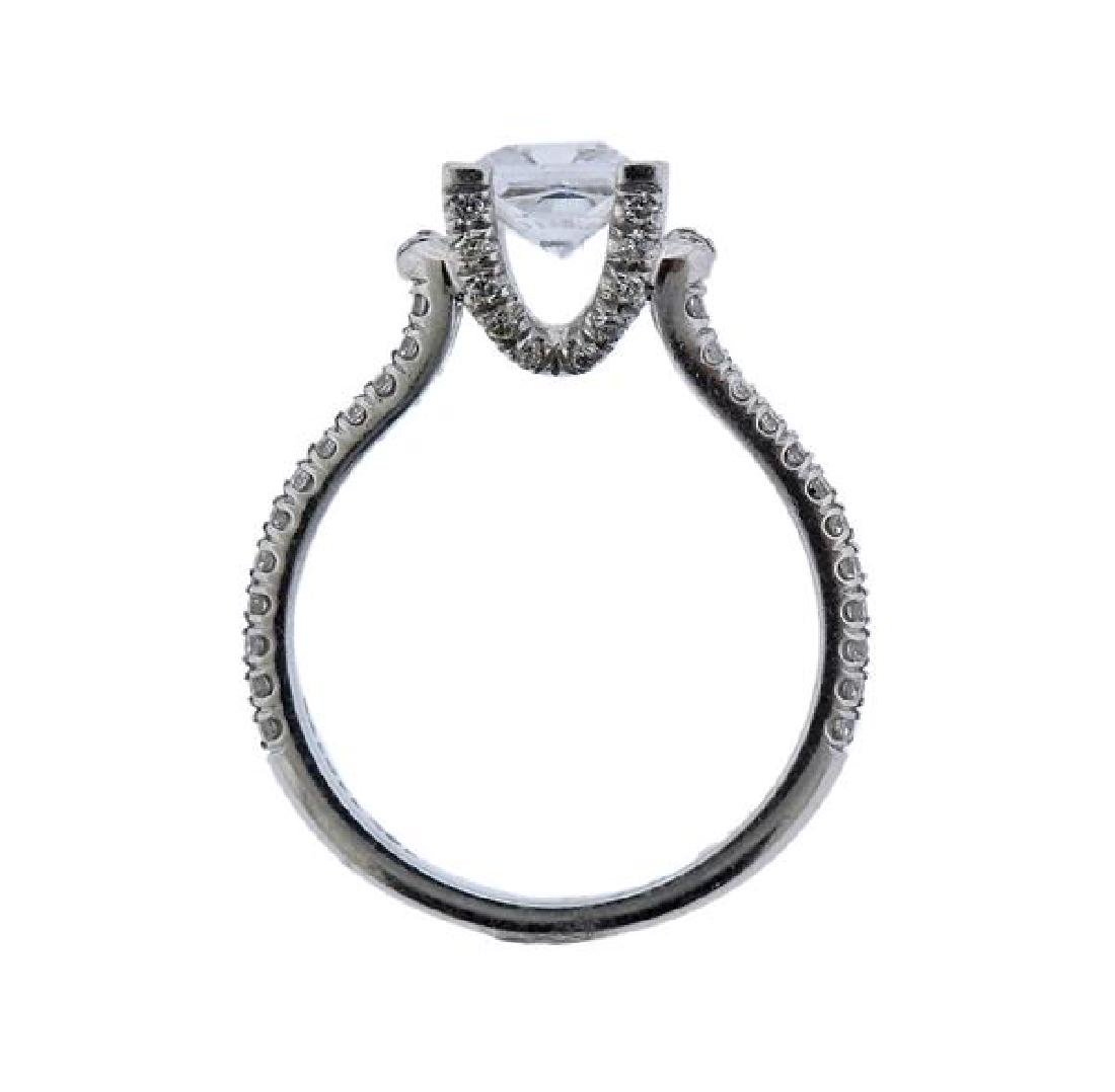 MIchael M. 18K Gold Diamond Engagement Ring Seeting - 5