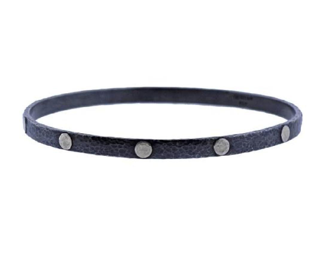 Gurhan Midnight Sterling Bangle Bracelet