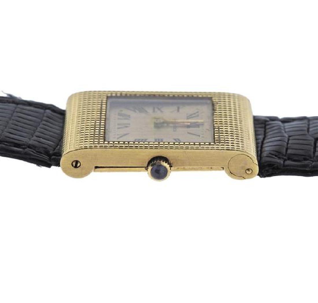 Boucheron 18K Gold Quartz Lady's Watch - 3