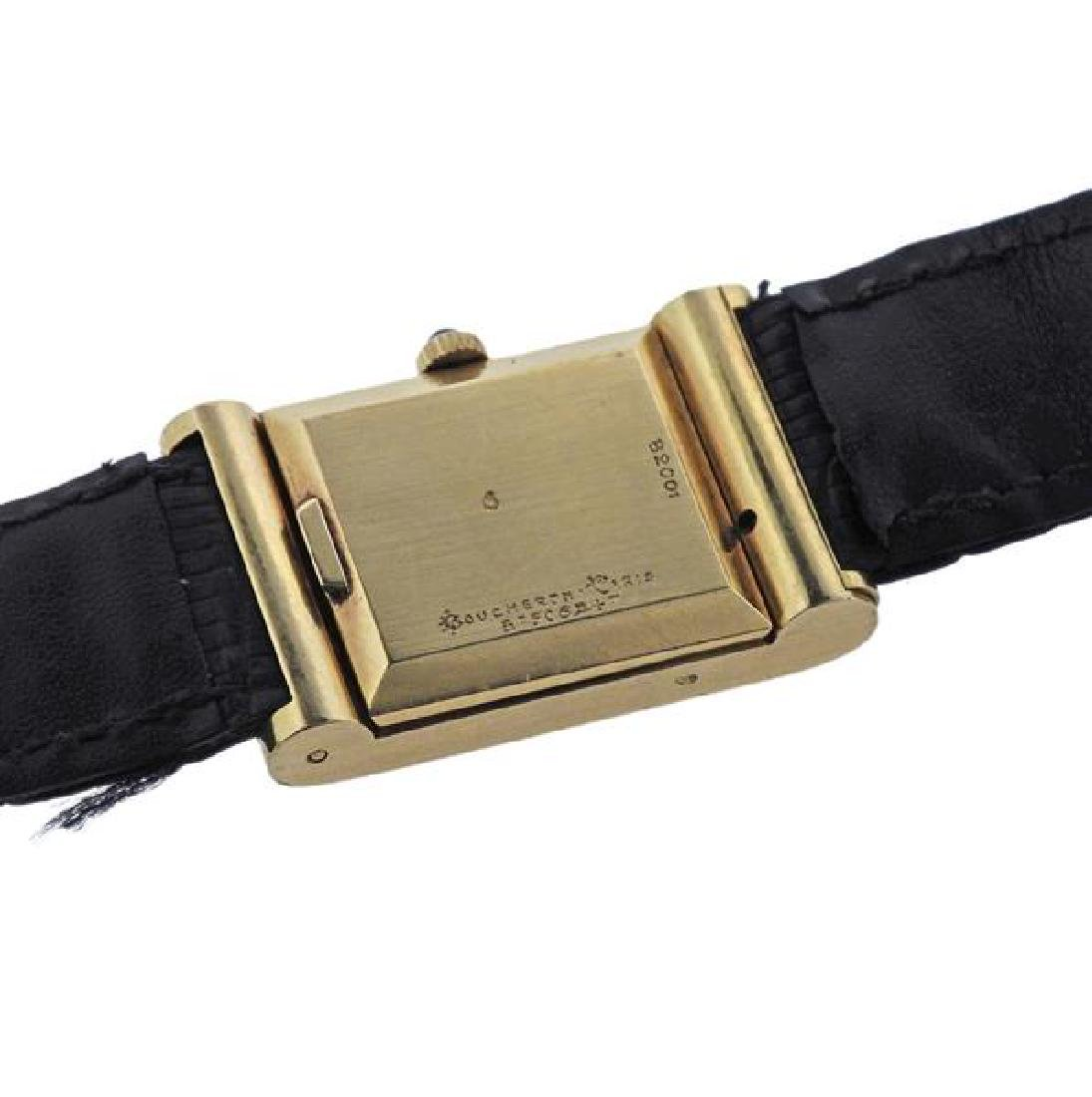Boucheron 18K Gold Quartz Lady's Watch - 4