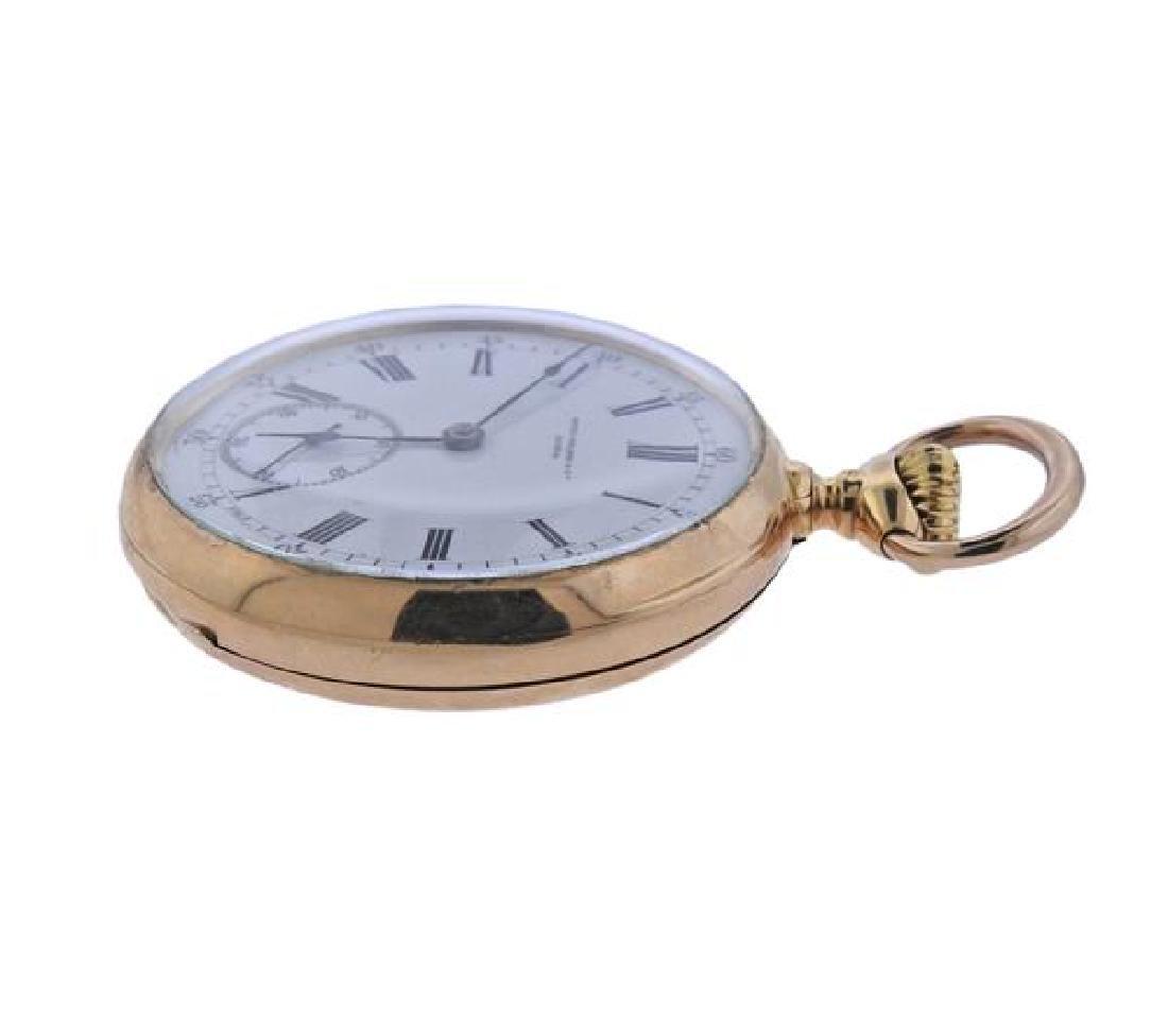 Patek Philippe 18k Gold Pocket Watch - 2