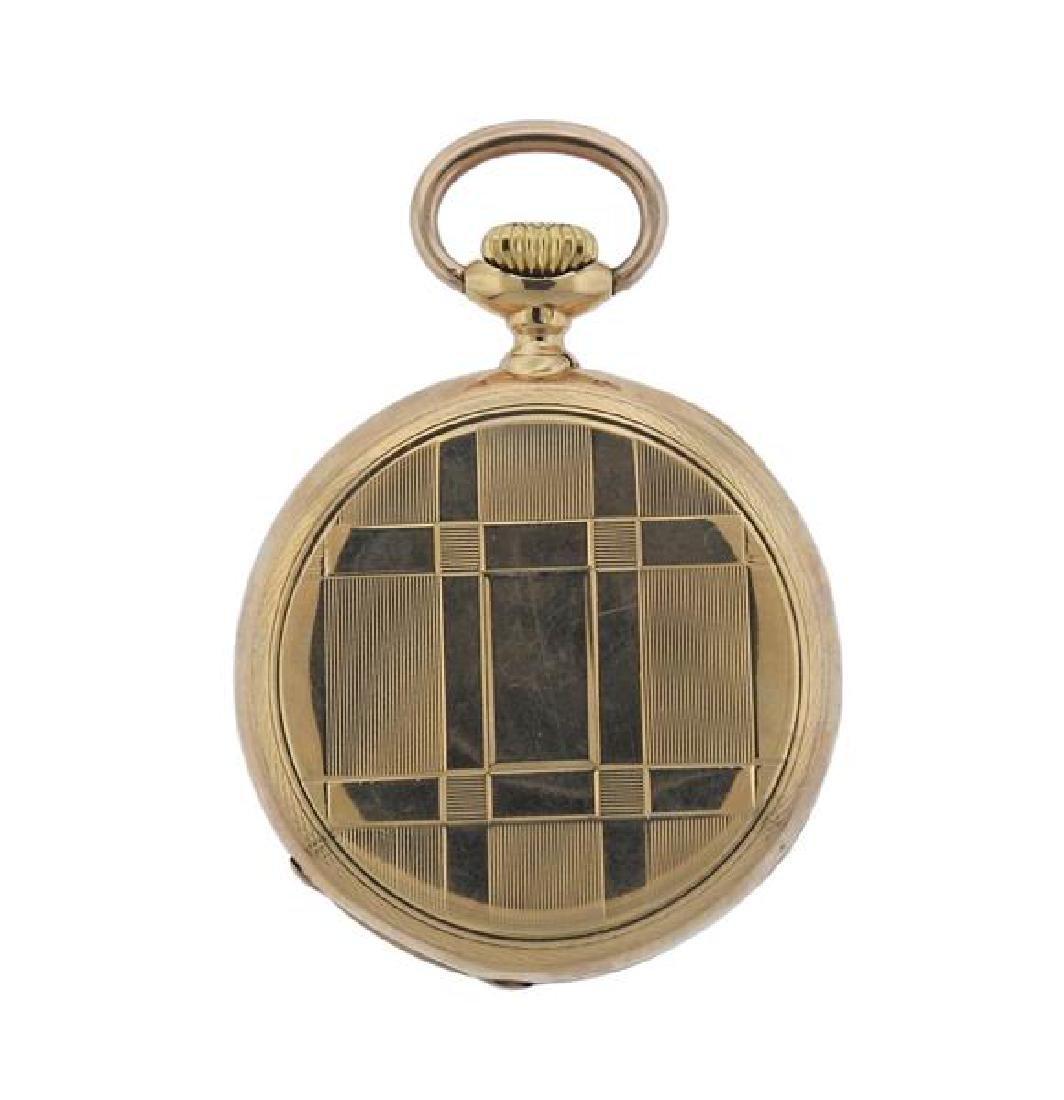 Patek Philippe 18k Gold Pocket Watch - 3