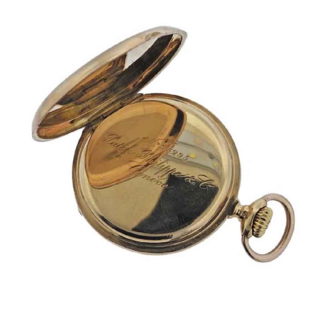 Patek Philippe 18k Gold Pocket Watch - 4