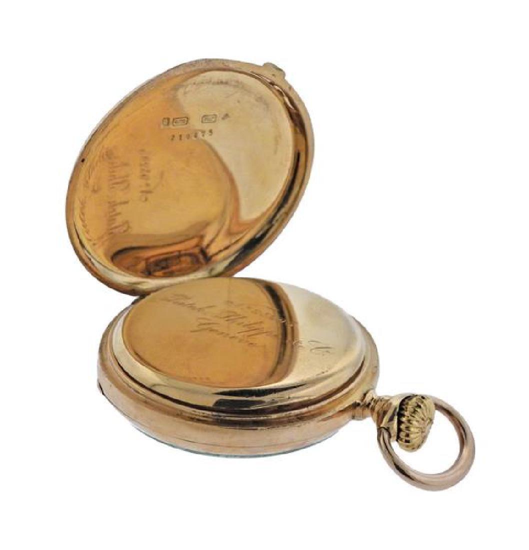 Patek Philippe 18k Gold Pocket Watch - 5