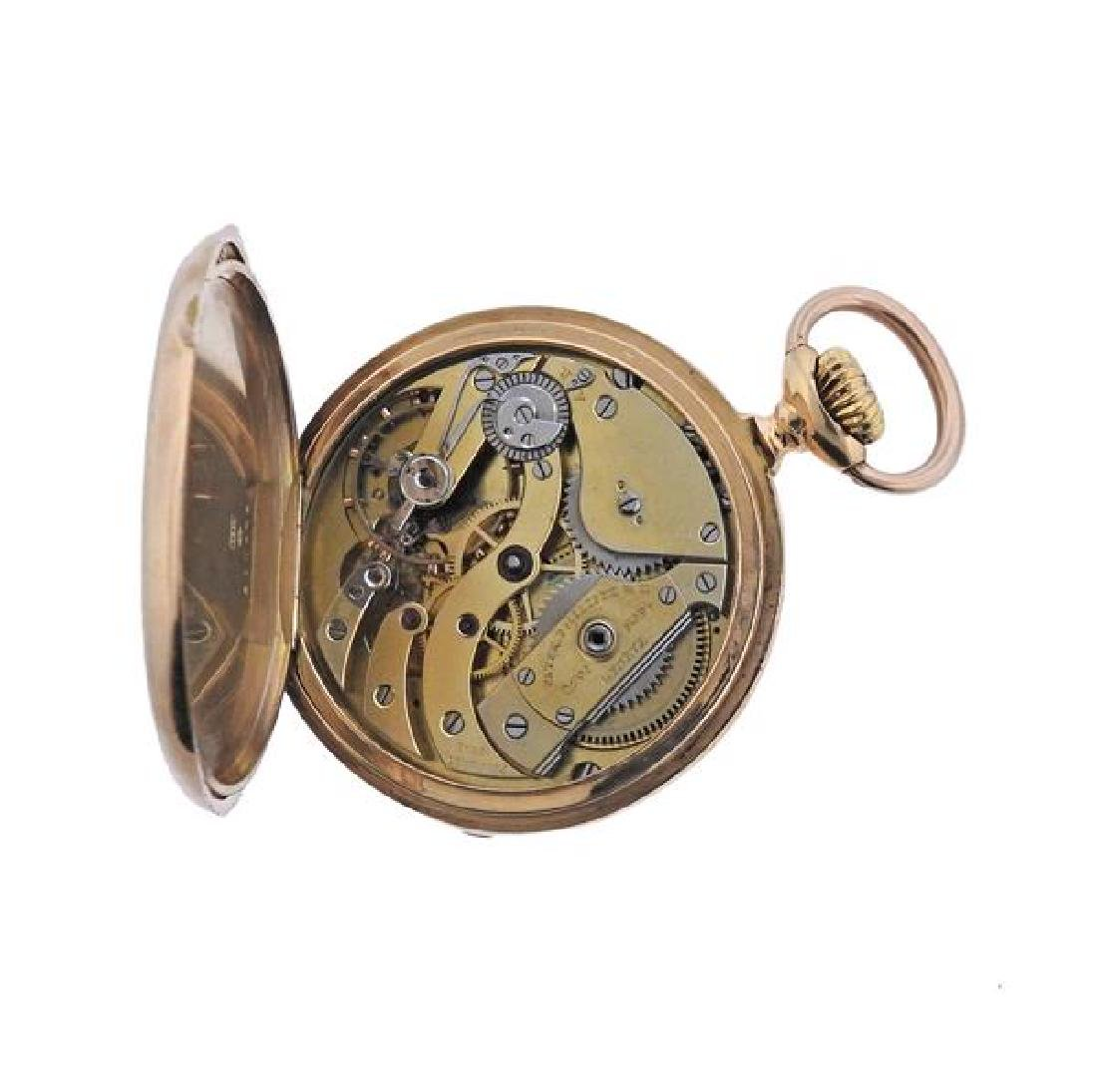 Patek Philippe 18k Gold Pocket Watch - 6
