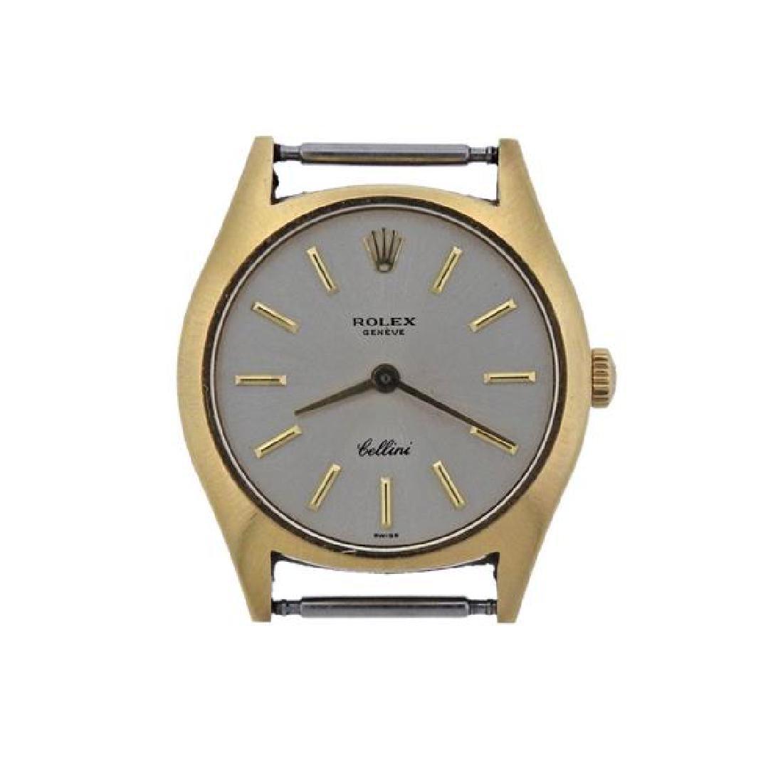 Rolex Cellini 18K Gold Lady's Watch Head