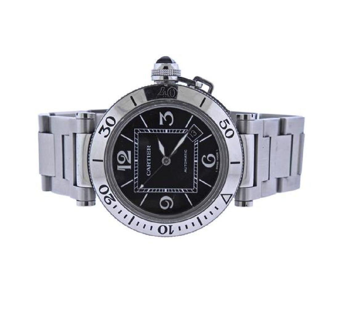 Pasha De Cartier Steel Automatic Watch 2790