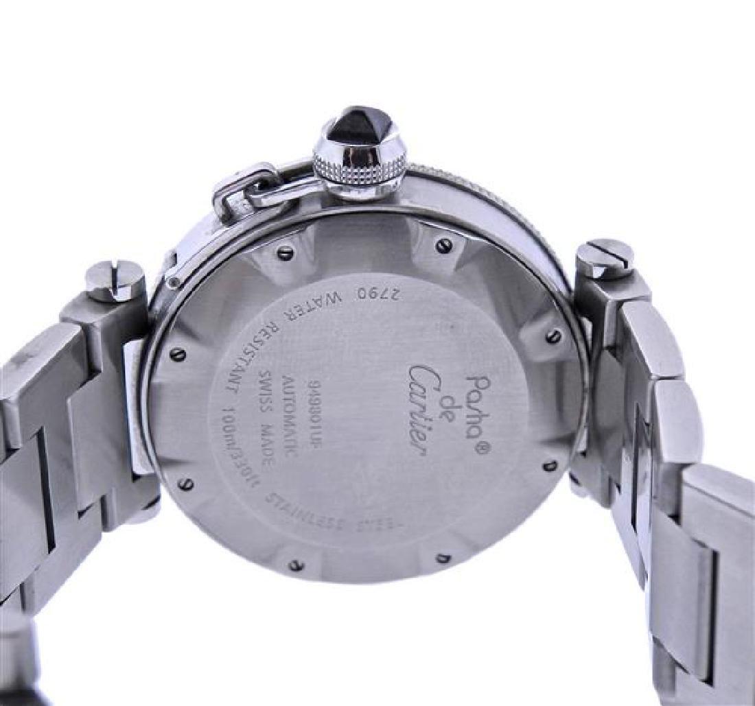Pasha De Cartier Steel Automatic Watch 2790 - 3