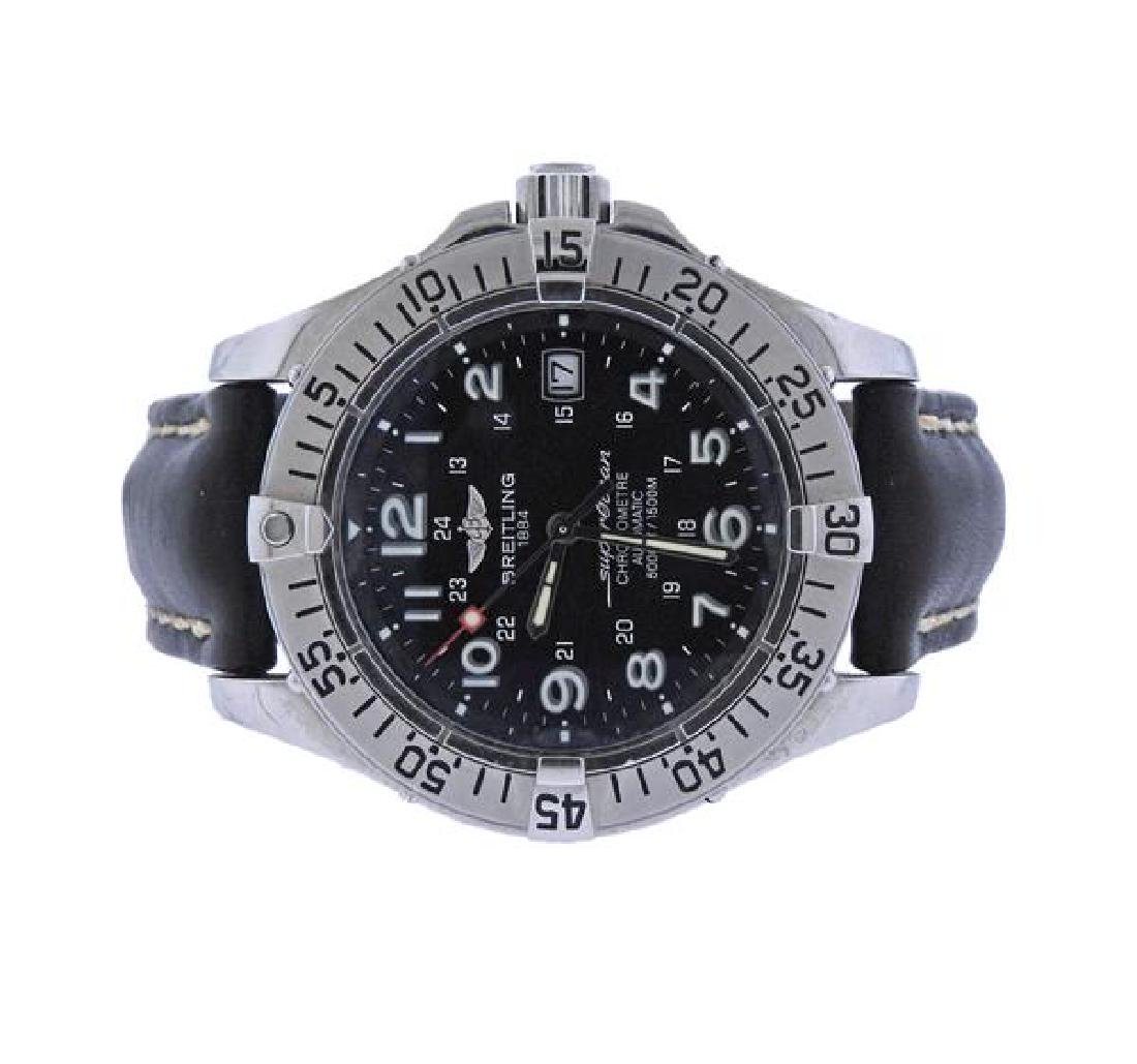 Breitling Super Ocean Chronometer Steel Automatic Watch