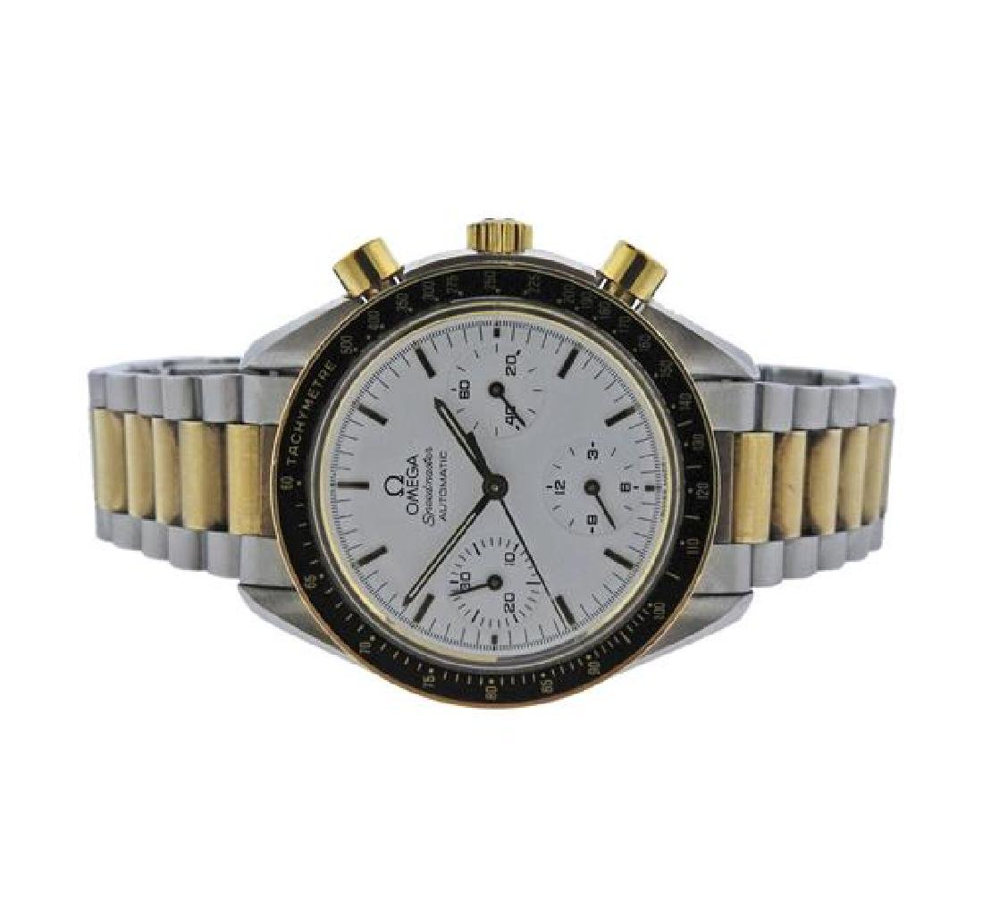 Omega Speedmaster 18K Gold Steel Automatic Chronograph