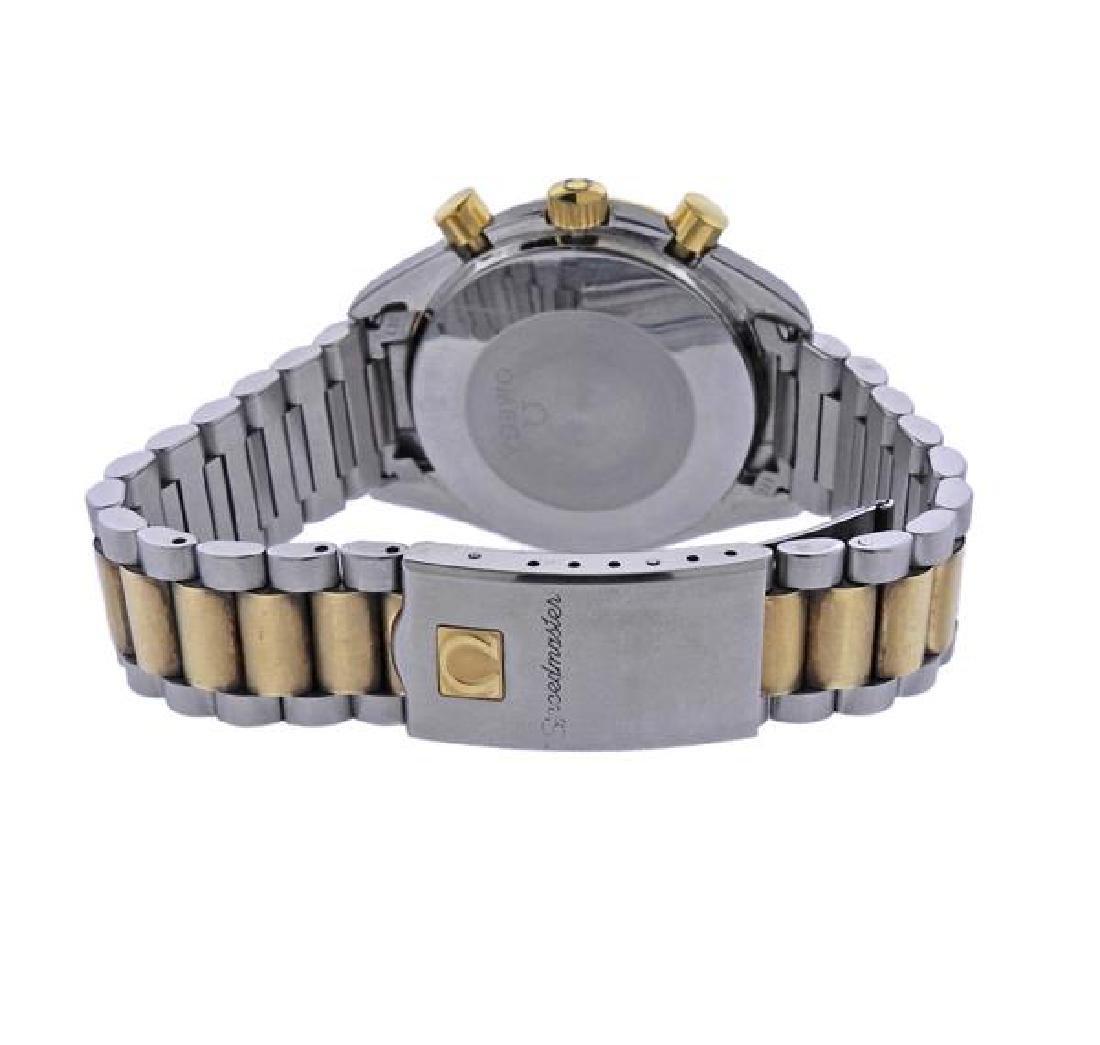 Omega Speedmaster 18K Gold Steel Automatic Chronograph - 2