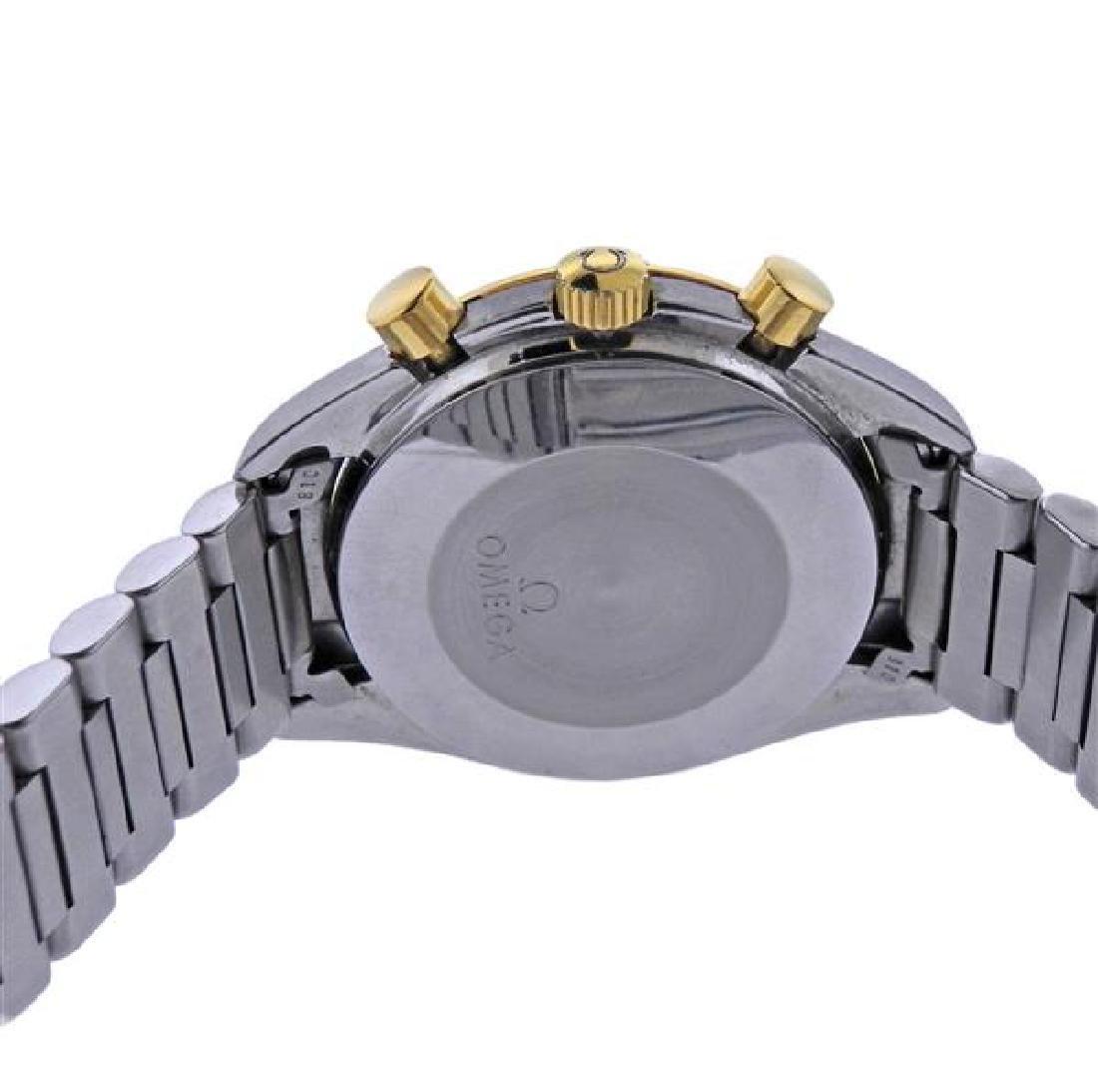 Omega Speedmaster 18K Gold Steel Automatic Chronograph - 3