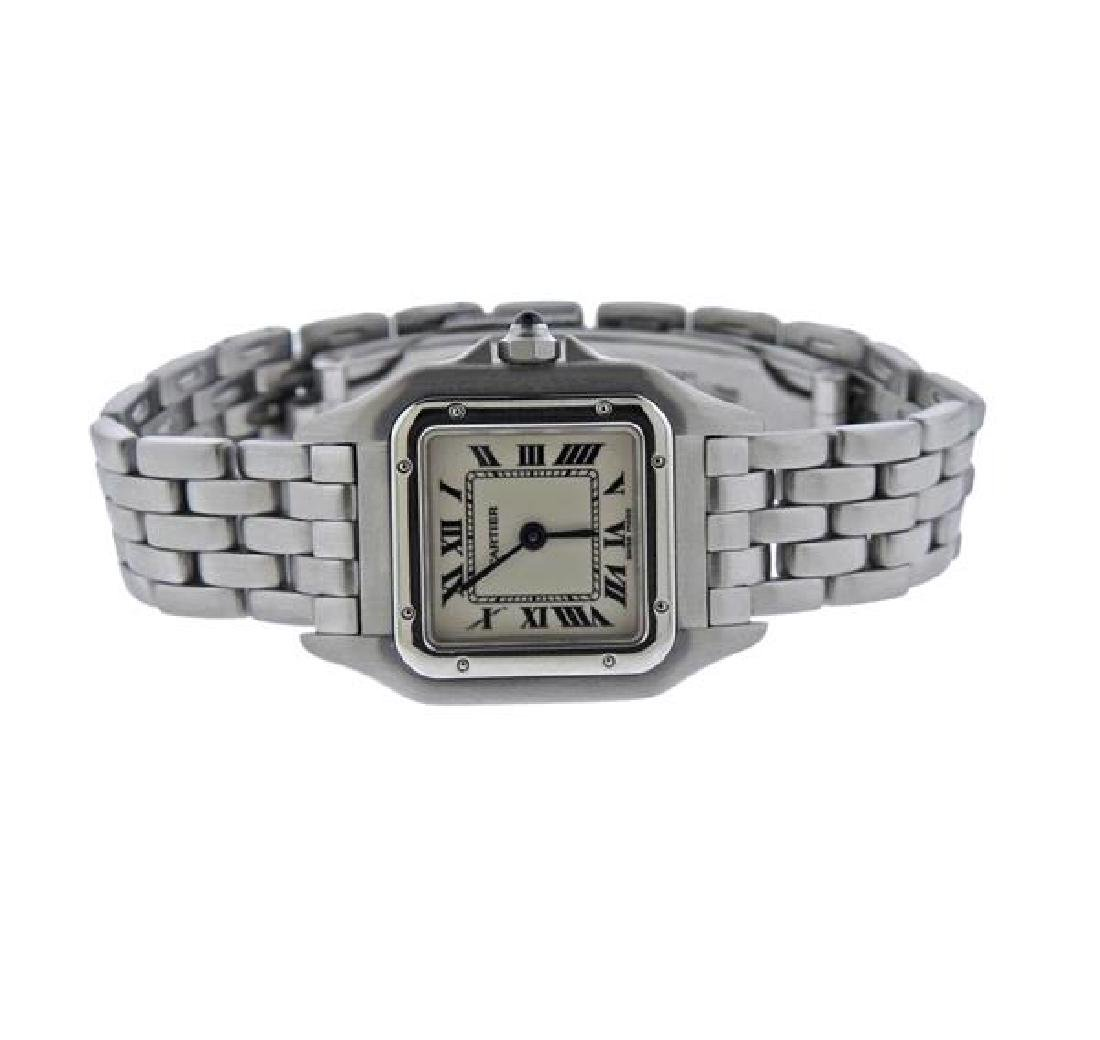 Cartier Santos Stainless Steel Quartz Watch 3333