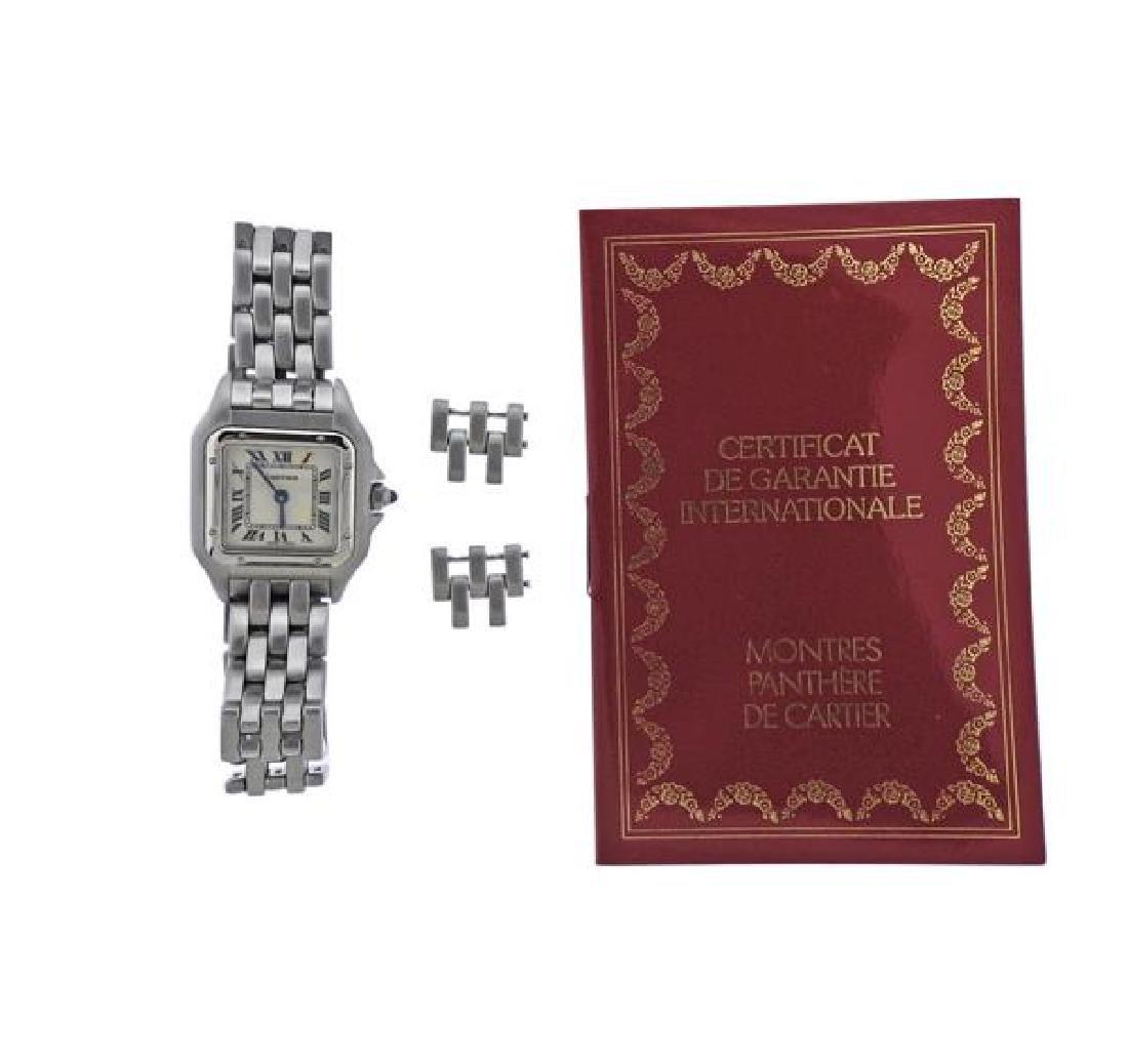 Cartier Santos Stainless Steel Quartz Watch 3333 - 2