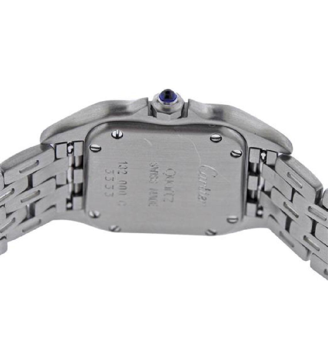 Cartier Santos Stainless Steel Quartz Watch 3333 - 4