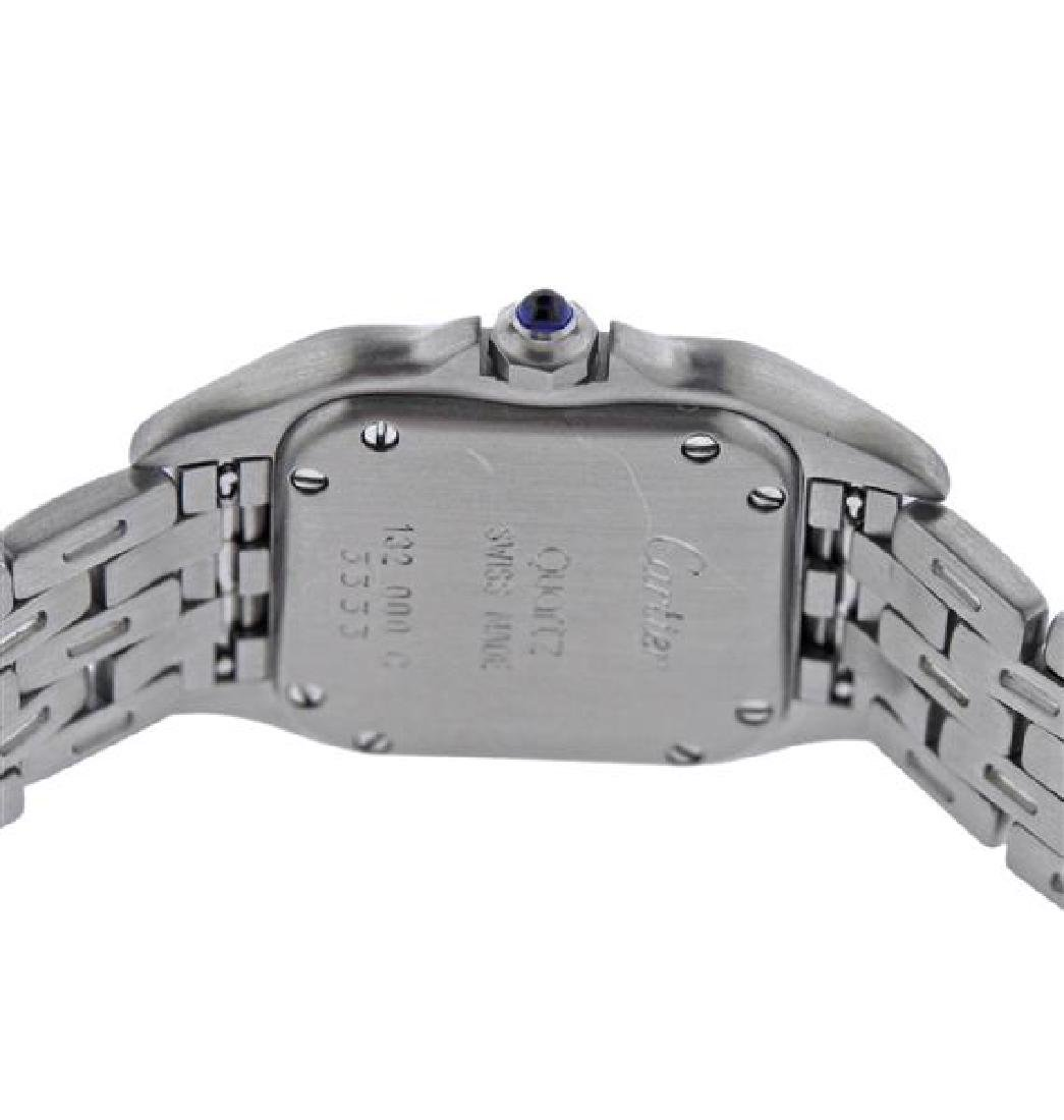 Cartier Santos Stainless Steel Quartz Watch 3333 - 4