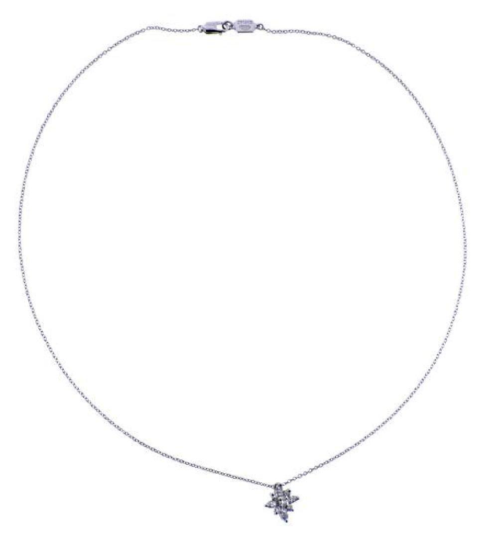 Kwiat Platinum Diamond Star Pendant Necklace - 2