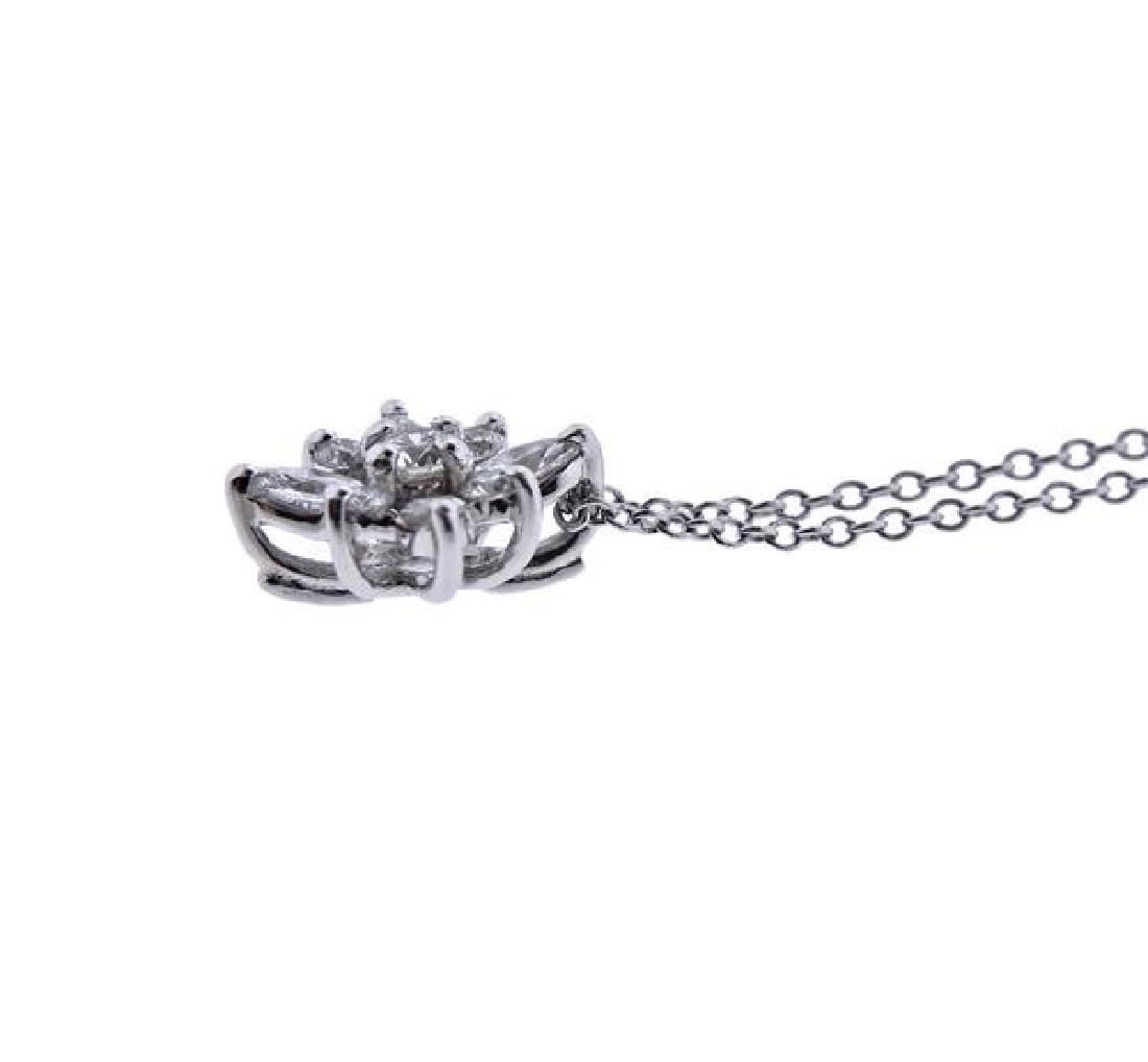 Kwiat Platinum Diamond Star Pendant Necklace - 3
