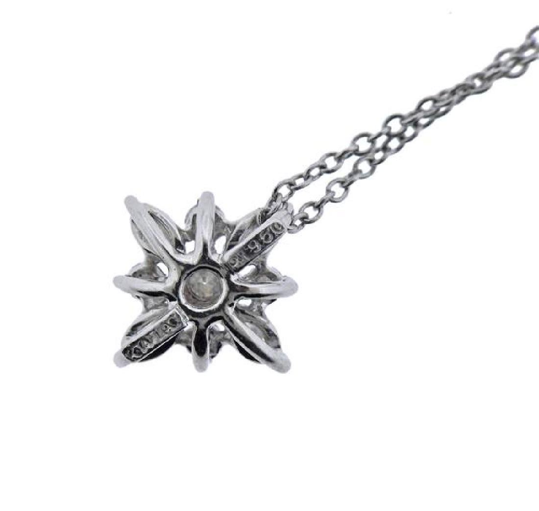 Kwiat Platinum Diamond Star Pendant Necklace - 4
