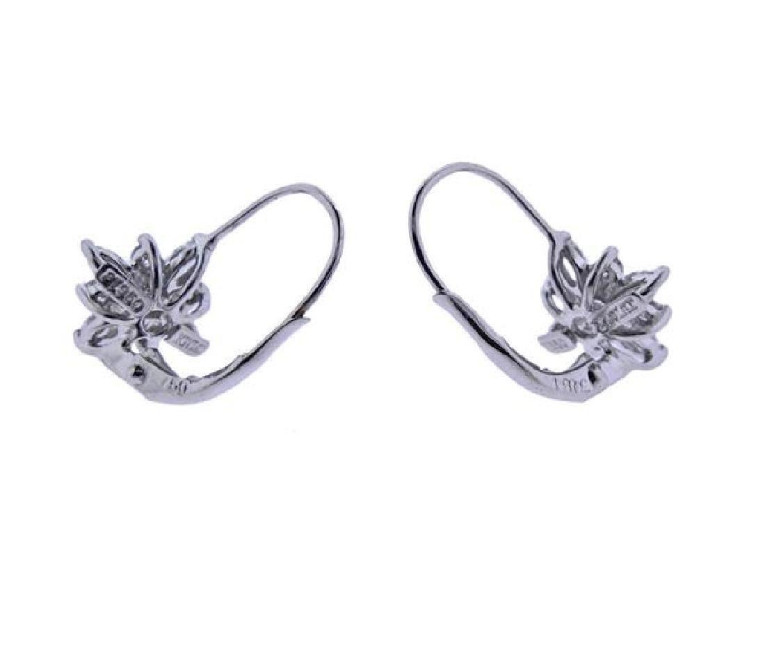 Kwiat Platinum 18K Gold Diamond Star Earrings - 3