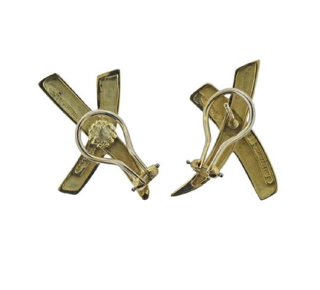 Tiffany & Co Picasso X 18k Gold Earrings - 3