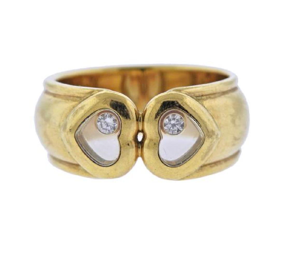 Chopard Happy Diamonds 18k Gold Heart Ring