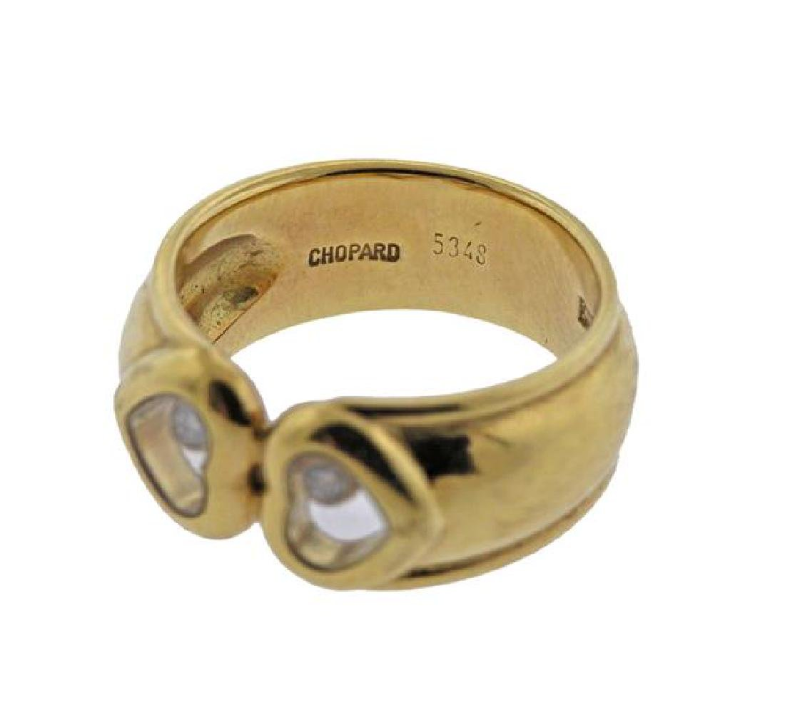 Chopard Happy Diamonds 18k Gold Heart Ring - 4
