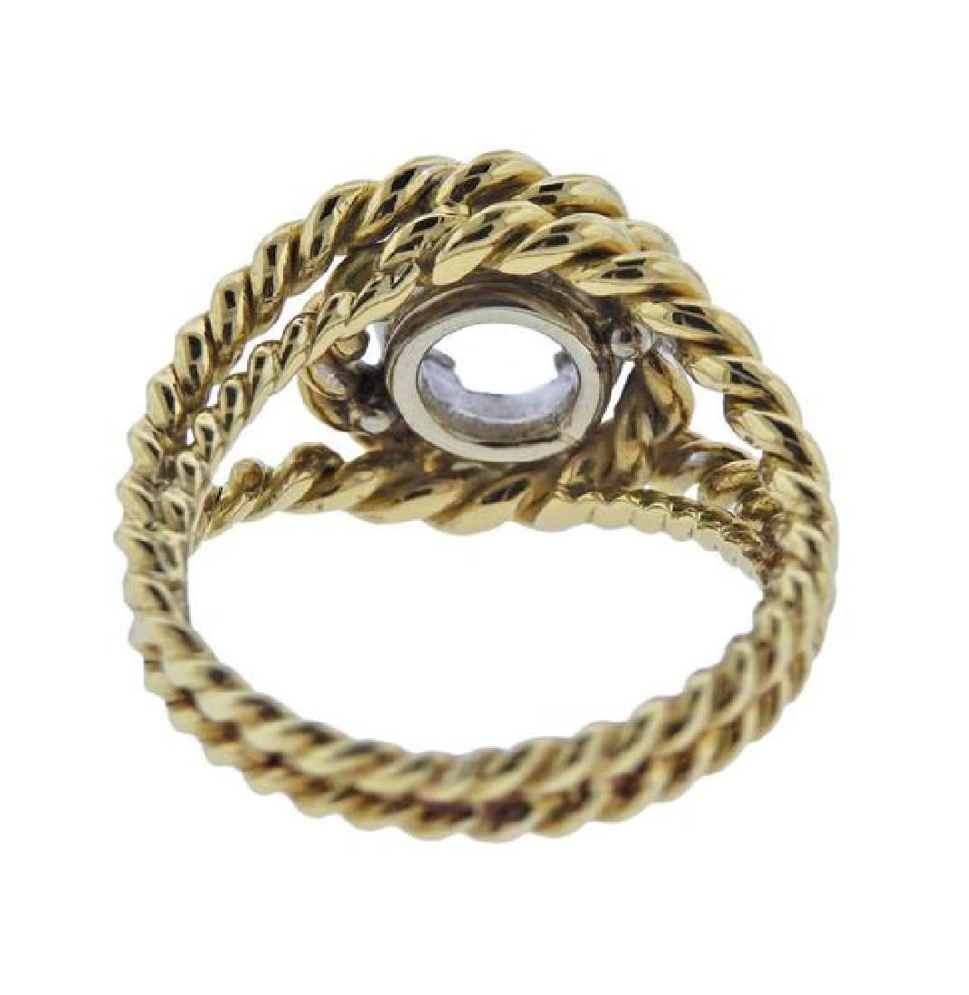 18K Gold Ring Mounting - 3