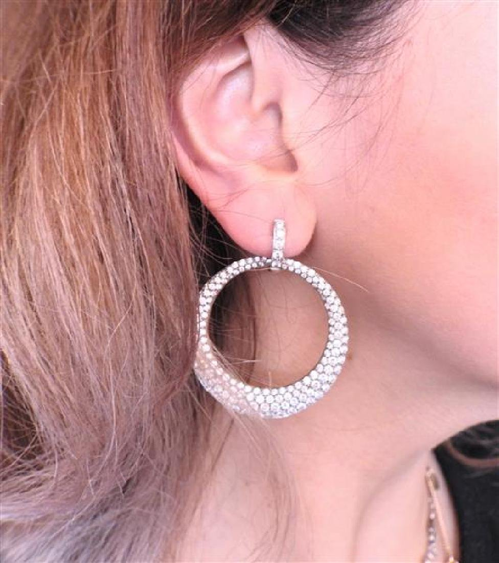 Carrera Y Carrera Sol Y Sombra  Diamond Gold Earrings - 5