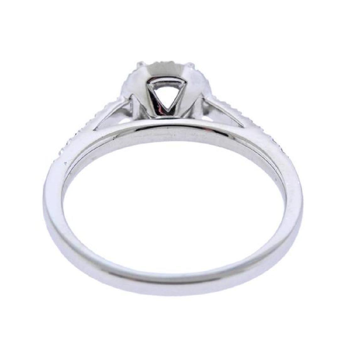 14K Gold Diamond Engagement Ring Mounting - 3