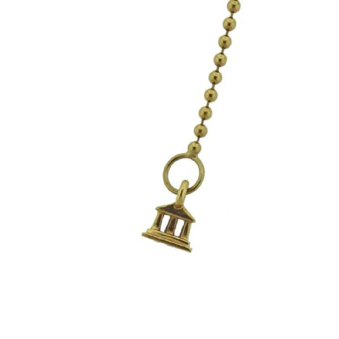 Temple St. Clair 18K Gold Diamond Pendant Necklace - 3