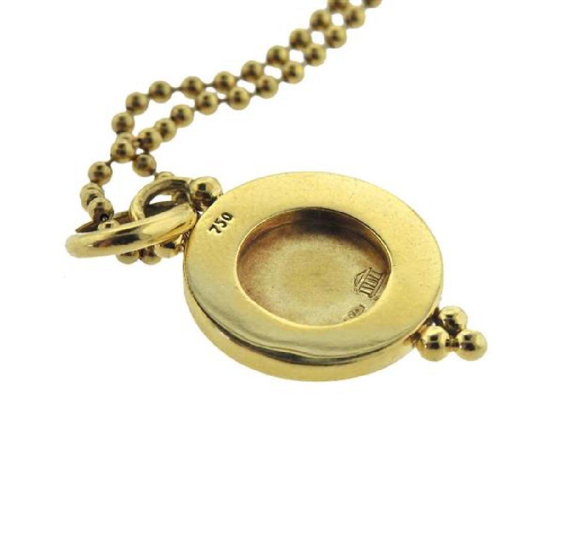 Temple St. Clair 18K Gold Diamond Pendant Necklace - 4