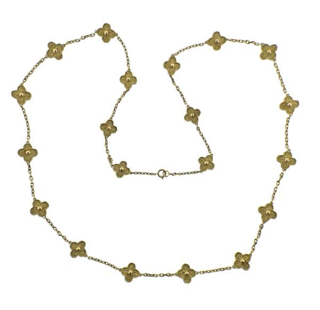 Van Cleef & Arpels Alhambra 18K Gold 20 Motif
