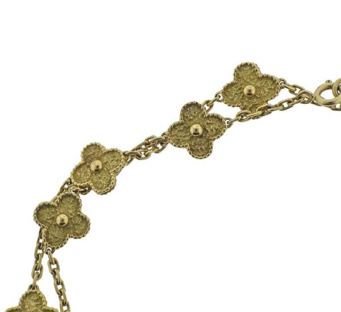 Van Cleef & Arpels Alhambra 18K Gold 20 Motif - 3